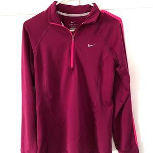 1/4 Zip Women's Athletic Shirt